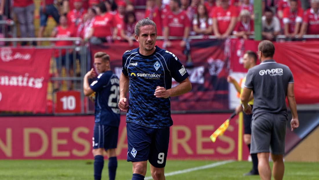 Valmir Sulejmani hat sich beim Derby in Kaiserslautern verletzt.