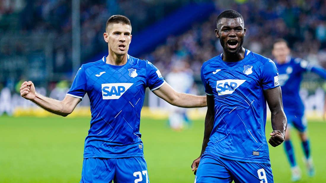 Die TSG Hoffenheim will gegen Düsseldorf eine Reaktion zeigen. Torjäger Kramaric (li.) könnte von Beginn an spielen.