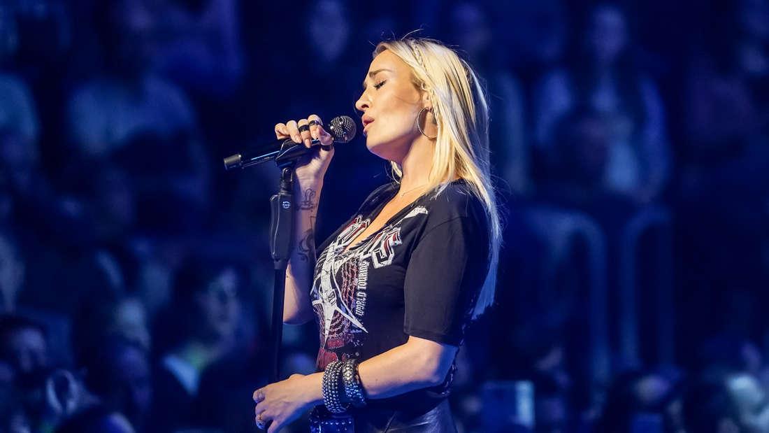 Sarah Connor Konzert in SAP Arena in Mannheim am 2. Dezember 2019.