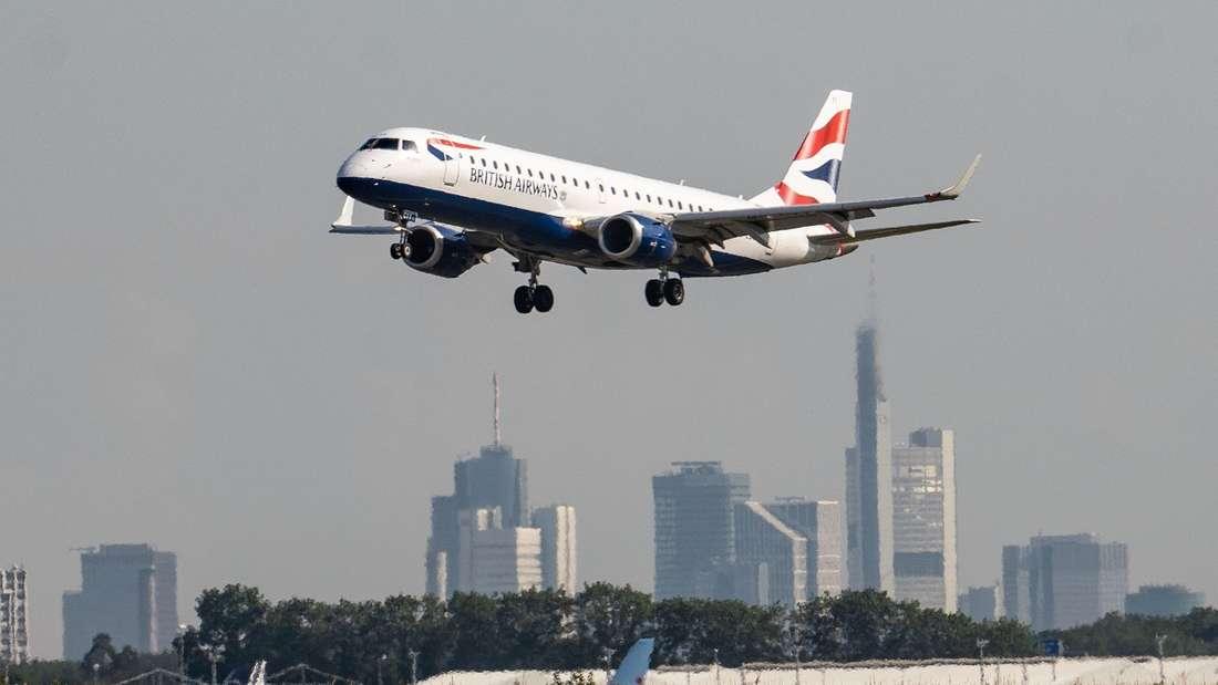 In einer British-Airways-Maschine entwickelte sich Feuer an einem Elektrogerät.