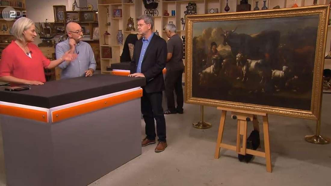 Verkäufer Trautmann trickste die Händler aus, um mehr Geld aus seinem Gemälde herauszuschlagen.