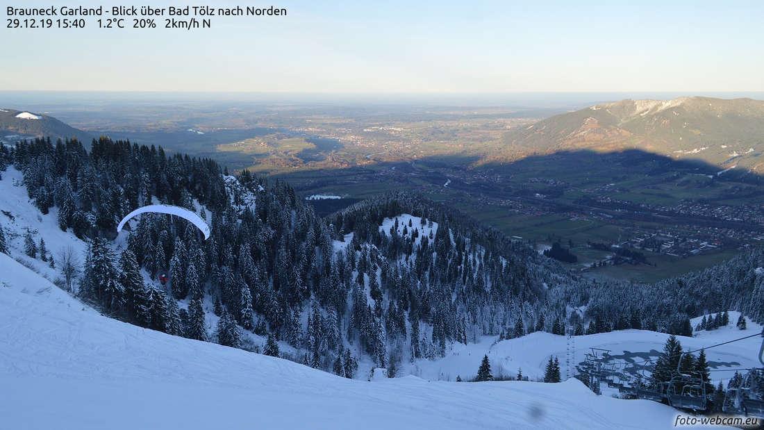 Skigebiete bei München: Betrieb kommt nach Föhnsturm langsam in Schwung