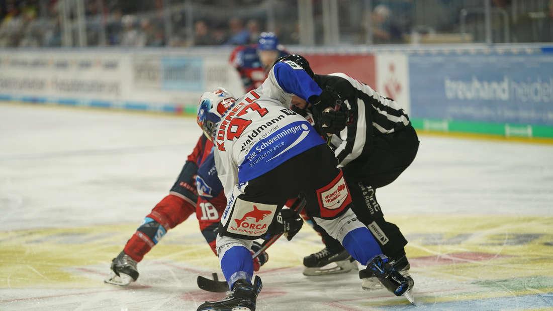 Adler Mannheim – Schwenninger Wild Wings in der SAP Arena.