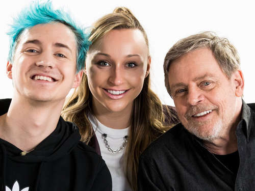 Star Wars & Fortnite: Ninja und Mark Hamill planen geheimes Event