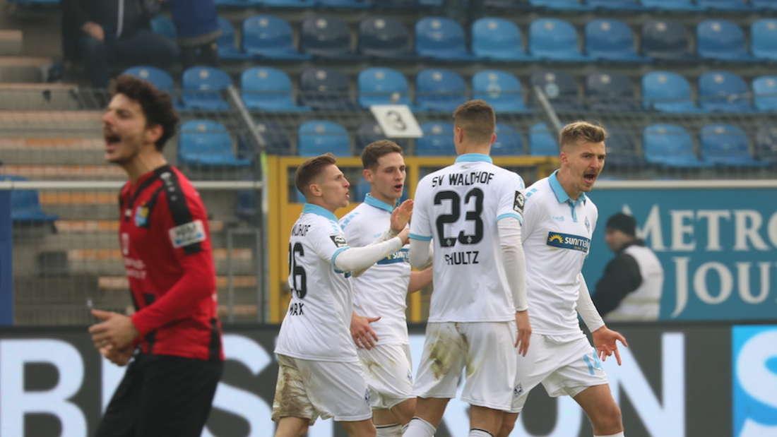 SV Waldhof Mannheim – Chemnitzer FC 4:3 (2:3)