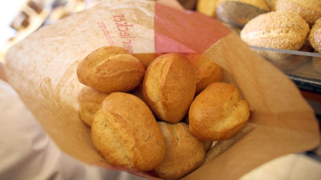 Viele Discounter oder Supermärkte haben eine Bäckerei im Eingangsbereich. (Symbolbild)
