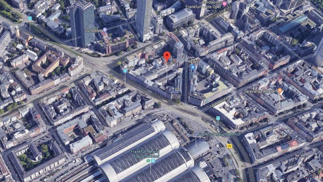 In der Niddastraße in Frankfurtfiel ein kleines Mädchen aus dem 4. Stock.