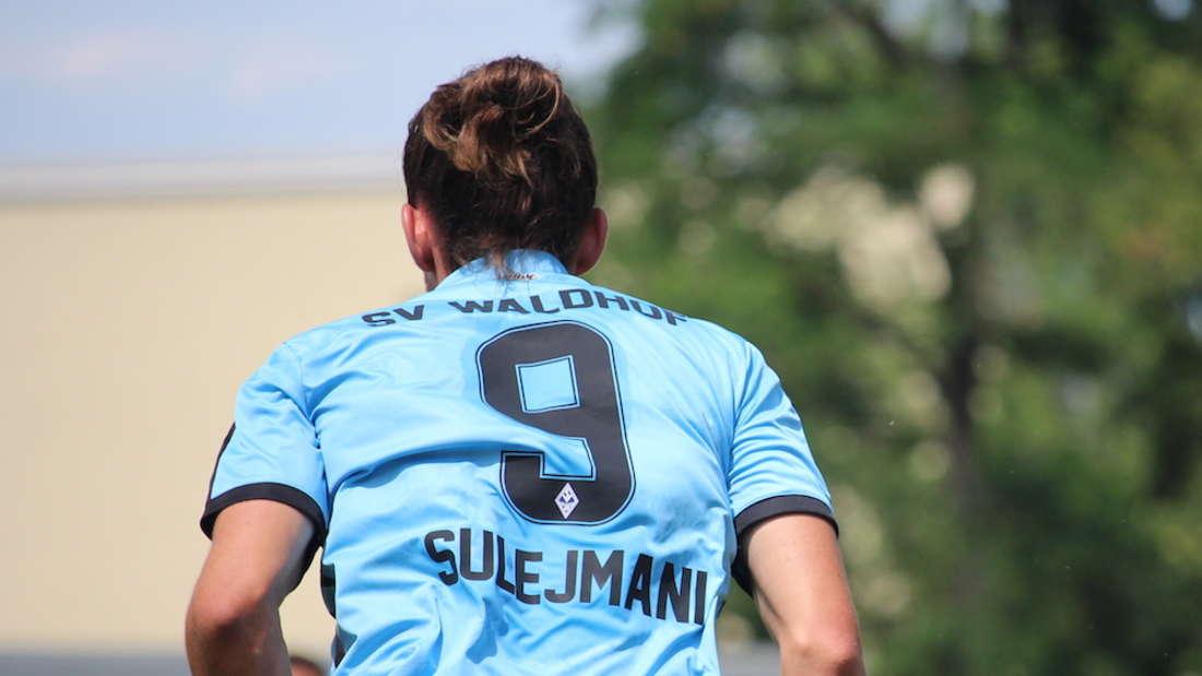 Valmir Sulejmani feiert gegen Sivasspor sein Comeback im Waldhof-Trikot (Archivfoto).