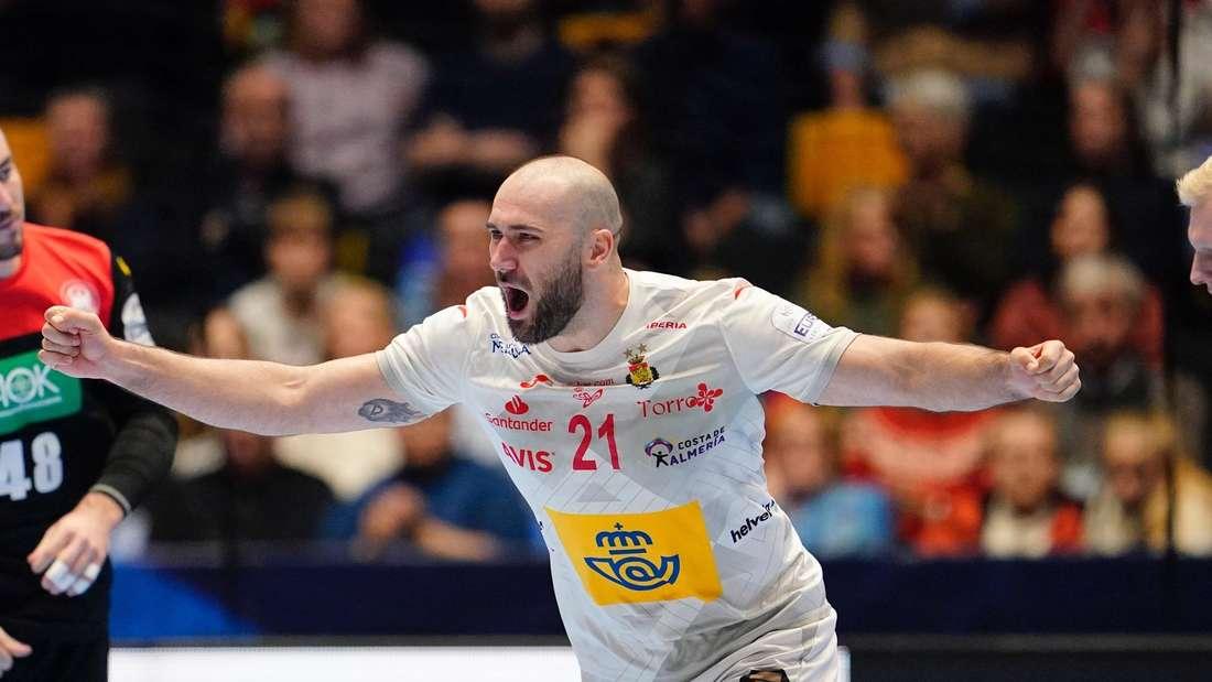 Handball EM: Spanien - Deutschland