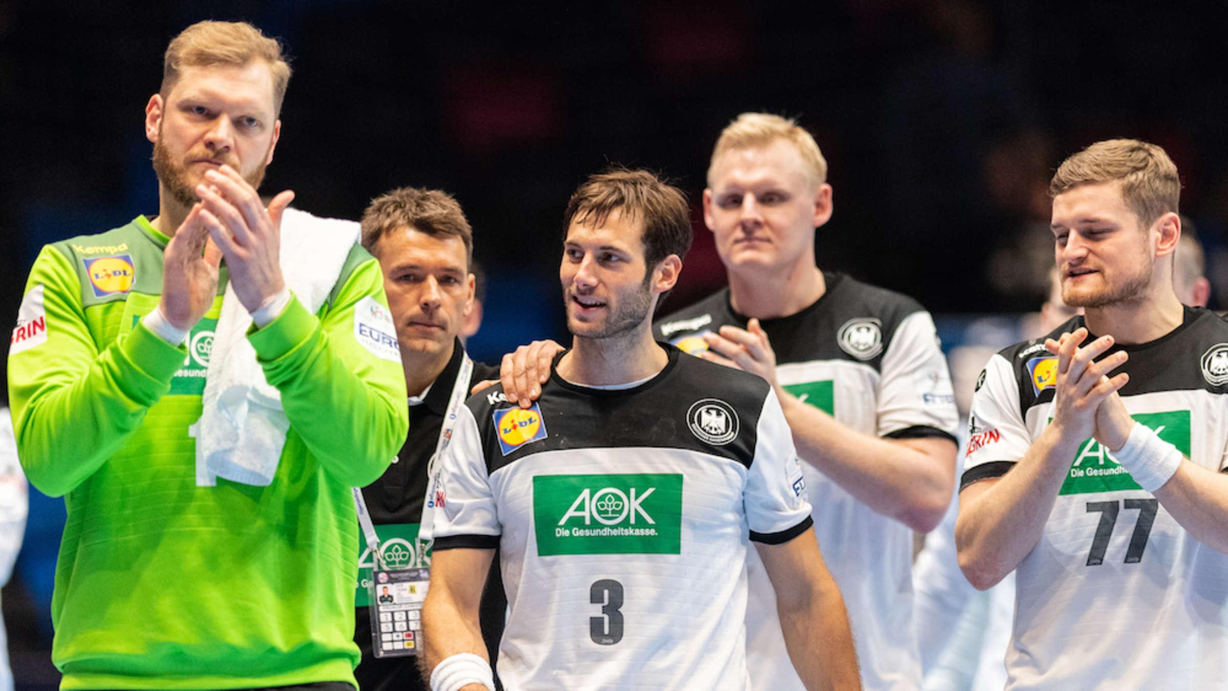 Handball Em Deutschland Nach Zittersieg Gegen Lettland In
