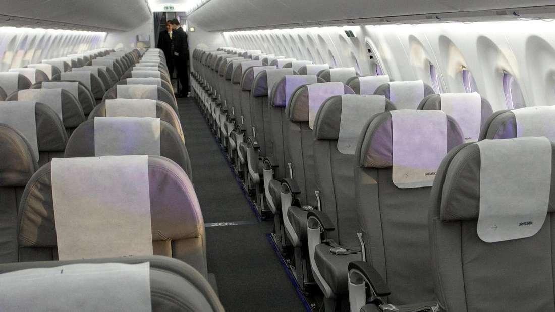In Flugzeugen ist die Temperatur meist gering - aus gutem Grund. (Symbolbild)