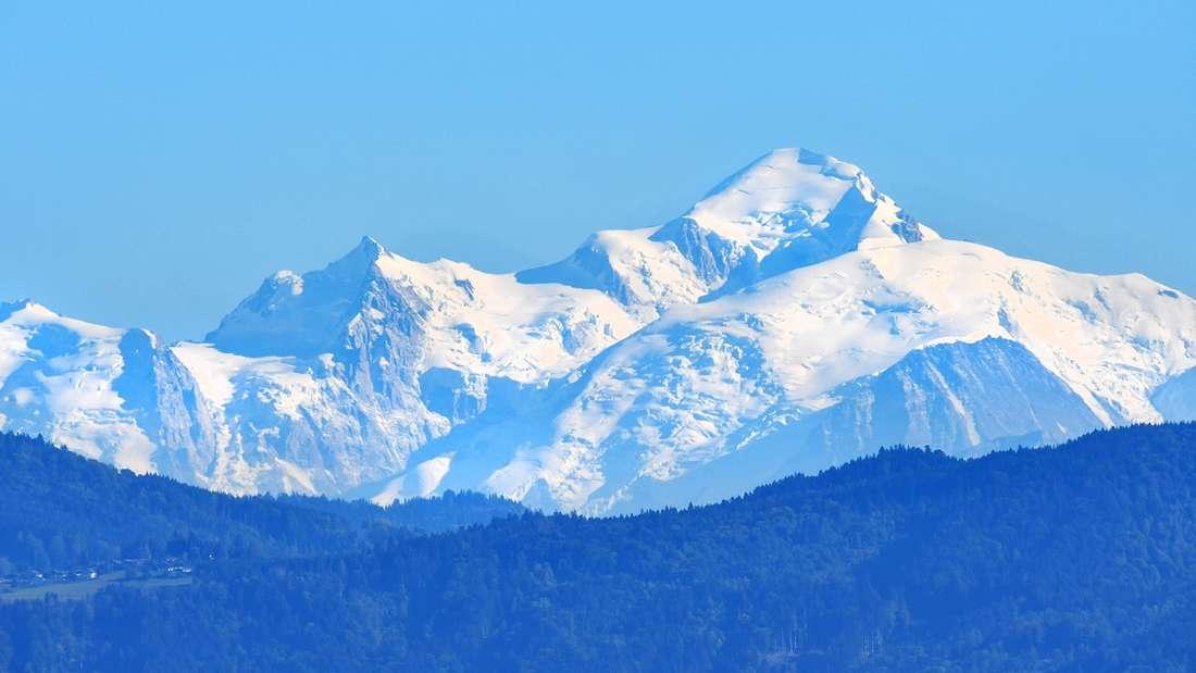 Der Mont Blanc zählt zu den gefährlichsten Bergen der Welt.