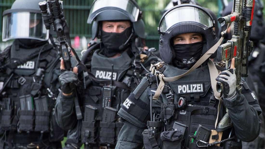 Terror¸bung der Frankfurter Polizei