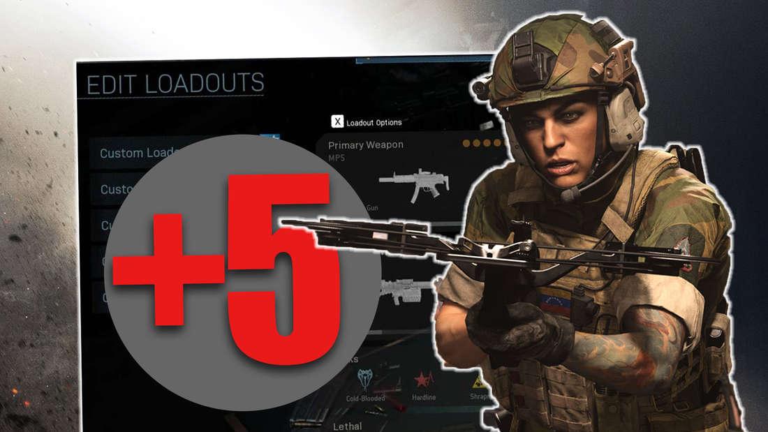 Call of Duty Modern Warfare Update ist live. Neue Waffe und mehr Slots