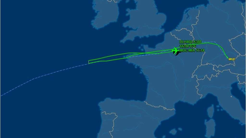Flug Mannheim München