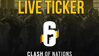 Rainbow Six Siege Clash of Nations Finale: Live Ticker