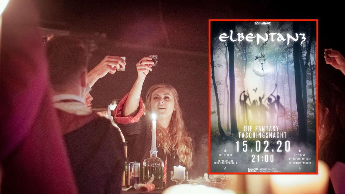 Elbentanz in halle02: Gewinne 2x2 VIP-Tickets für die Fantasy-Party