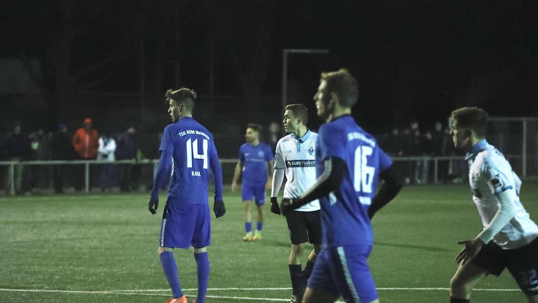 Fotos vom Testspiel des SV Waldhof Mannheim gegen die TSG Weinheim.