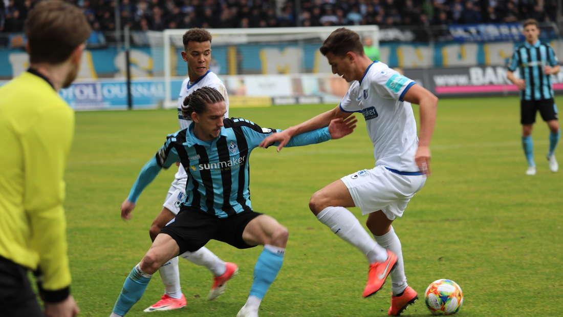 Valmir Sulejmani trifft gegen Magdeburg zum 1:0.