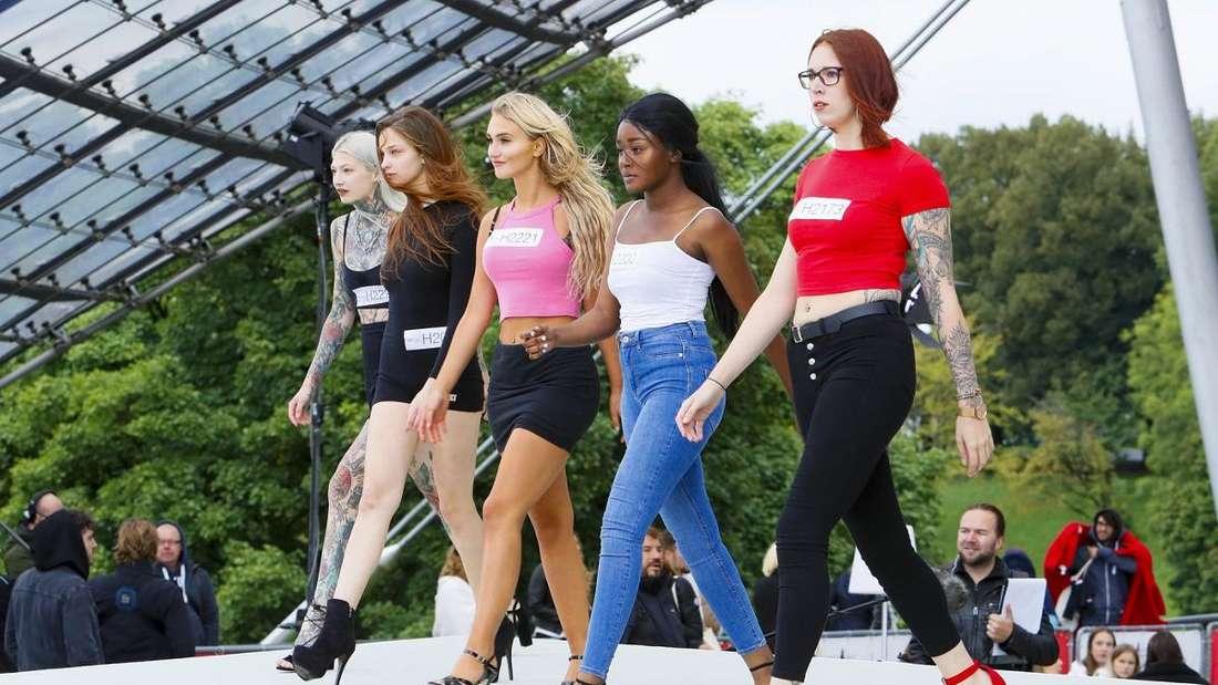 Die neue Staffel Germany's next Topmodel
