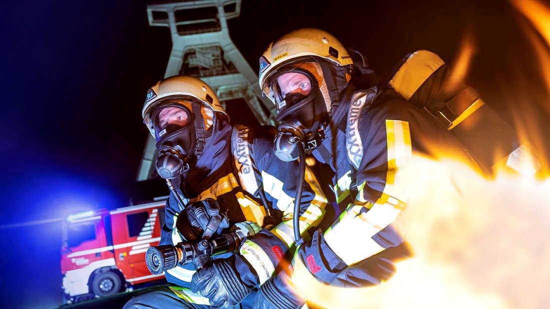 Feuerwehr Bochum bei Feuer und Flamme im WDR 2020