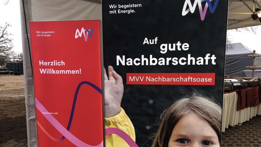 MVV Nachbarschaftsoase - Oase inmitten der größten Baustelle Mannheims