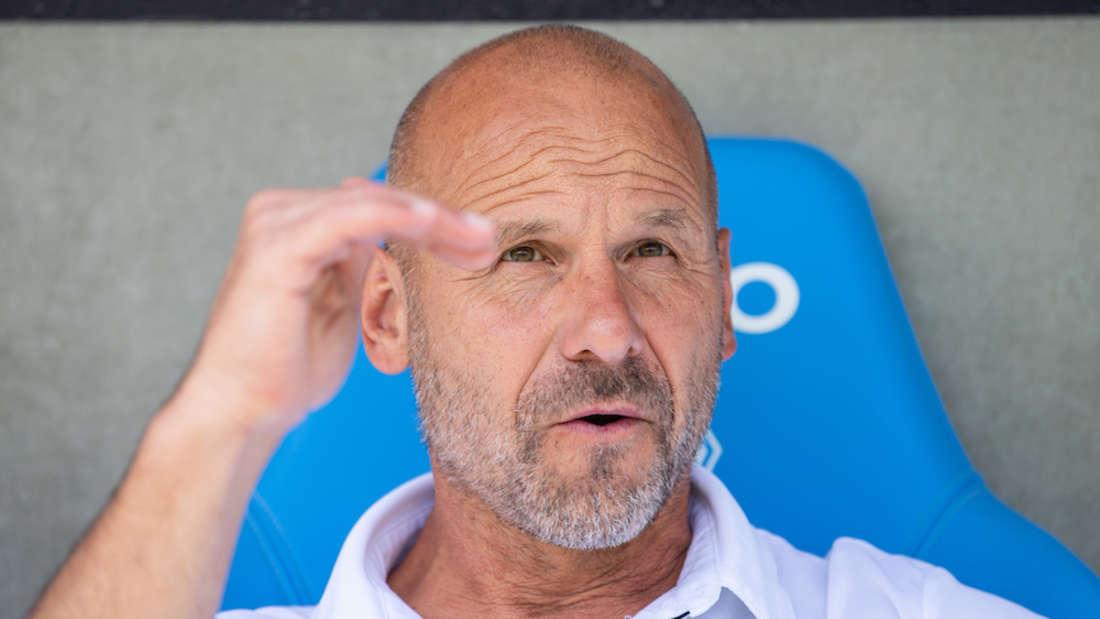 Waldhof-Trainer Bernhard Trares hätte gerne noch einen weiteren Spieler verpflichtet.