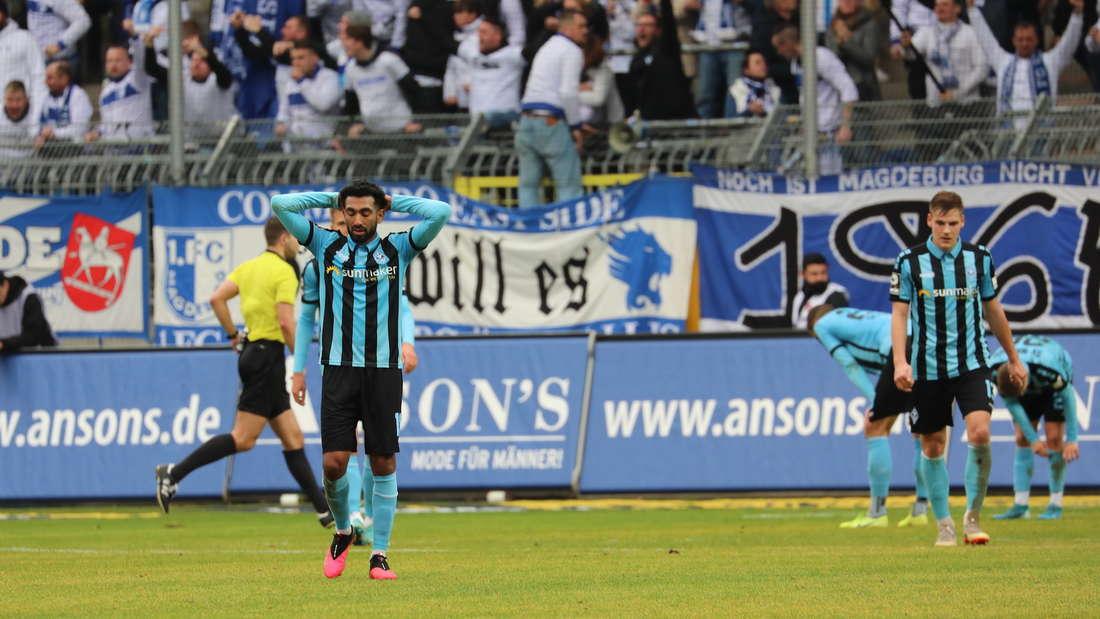 Der SV Waldhof Mannheim verspielt den Sieg gegen den 1. FC Magdeburg.