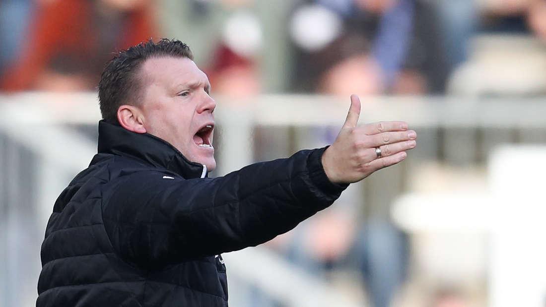 Uwe Koschinat will mit dem SV Sandhausen den 1. FC Heidenheim schlagen.