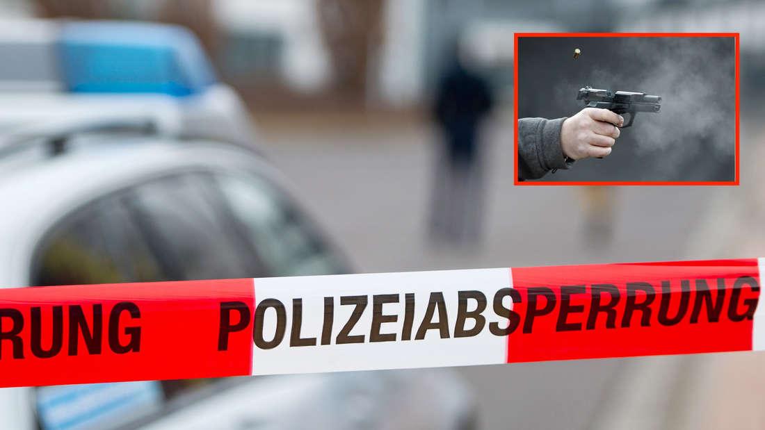 Die Polizei findet eine tote Frau in einem Auto. Ihr Ex-Freund hat noch die Pistole in der Hand. (Symbolfoto)