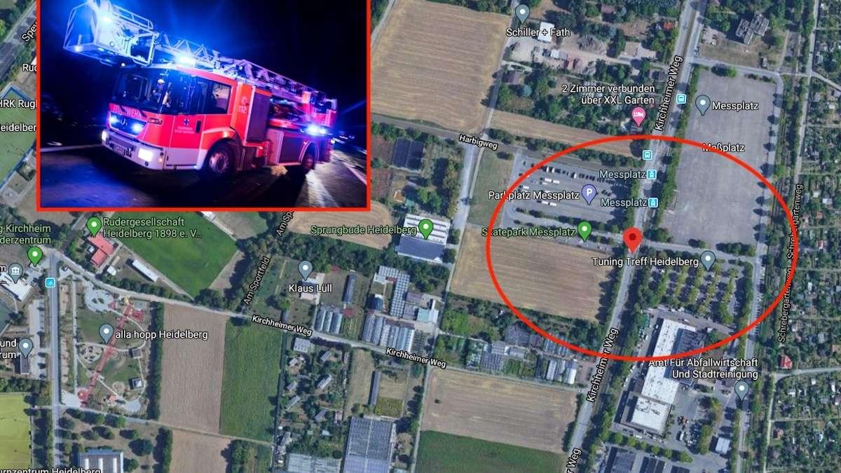 Explosion In Mannheim