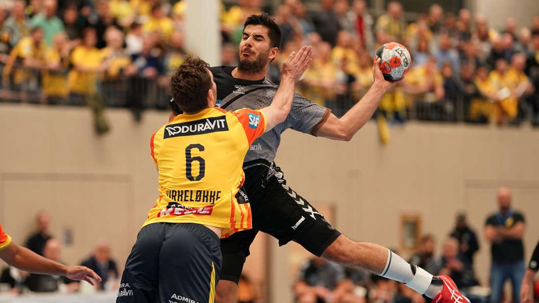 EHF-Cup: Rhein-Neckar Löwen gewinnen gegen Liberbank Cuenca.