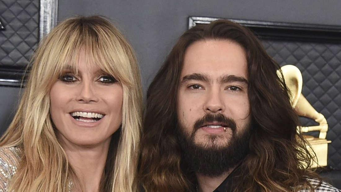 Model Heidi Klum und Tom Kaulitz zeigen sich auf dem Roten Teppich ganz glamourös, für ihre Fans aber oft auch ganz privat.