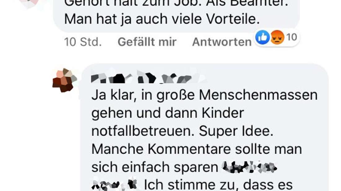 Lehrer als Wahlhelfer in München? Auf Facebook sorgt diese Maßnahme für Diskussionen.