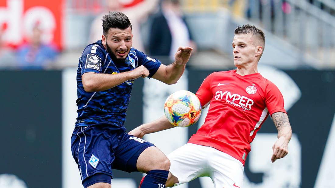 Arianit Ferati (li.) wird dem SV Waldhof vier Wochen fehlen.