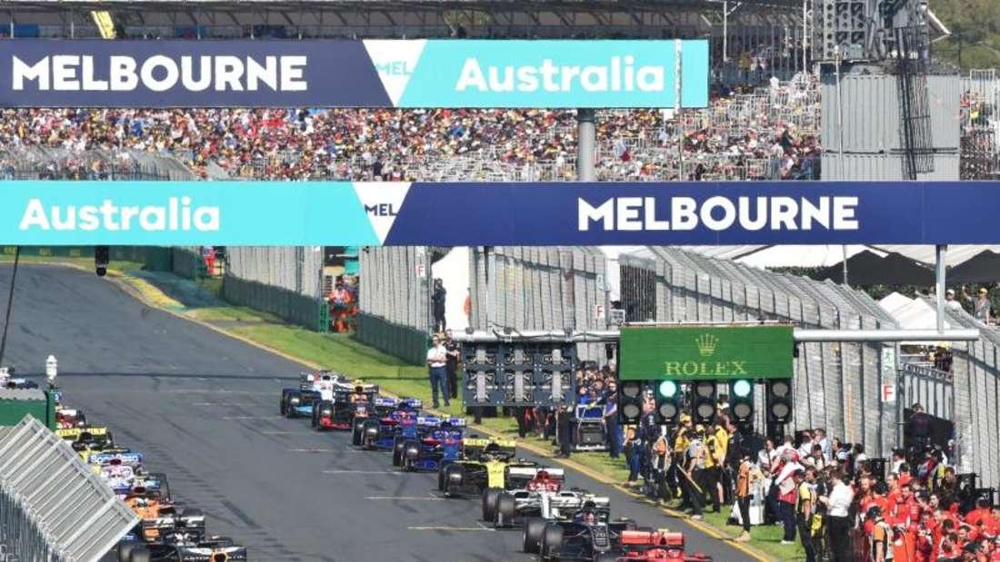 RTL wird seine Mitarbeiter nicht zum Formel-1-Auftakt nach Melbourne schicken. Foto: James Ross/AAP/dpa