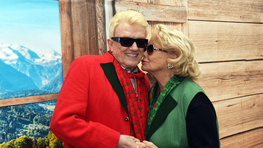 Schlagerstar Heino und seine Frau Hannelore.