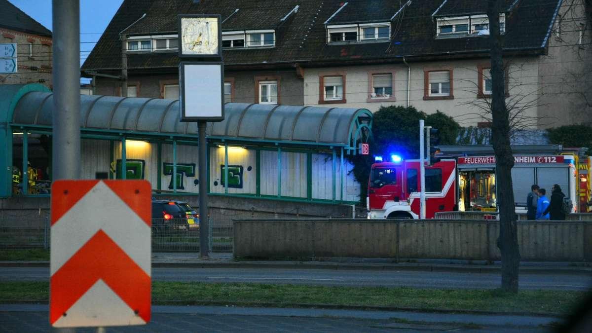 Bahnunfall Mannheim