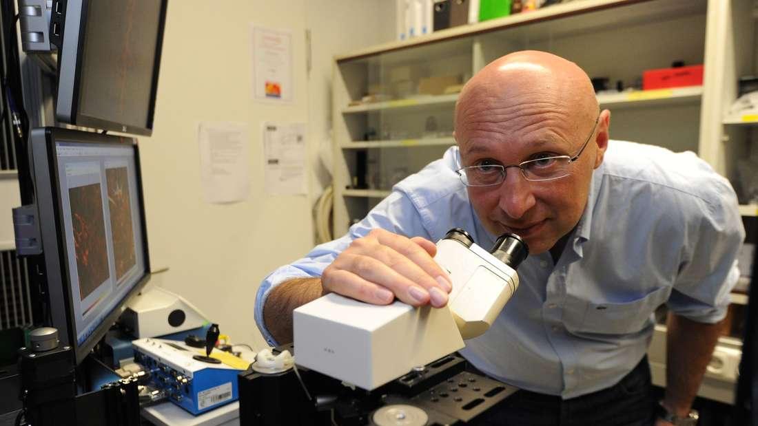 Chemiker Stefan W. Hell erhielt 2014 den Nobelpreis.