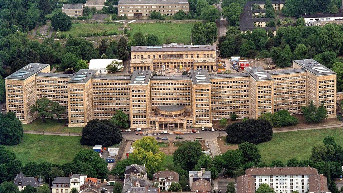 Das IG-Farben-Haus in Frankfurt am Main war Hauptsitz des Unternehmens.