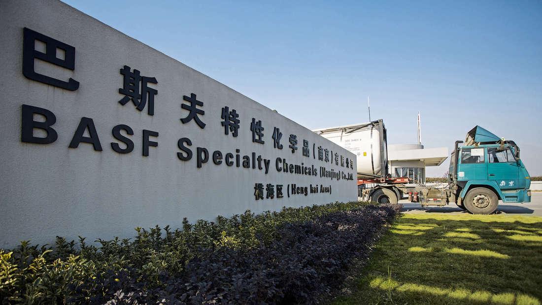 Eine Niederlassung der BASF befindet sich auch inNanjing in China.