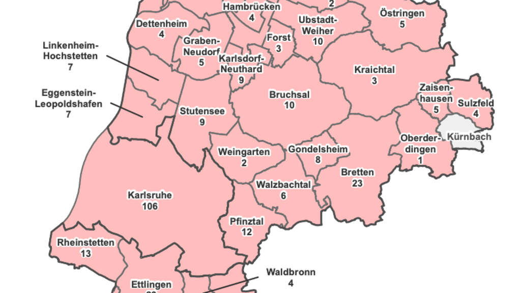 Karlsruhe Fallzahlen