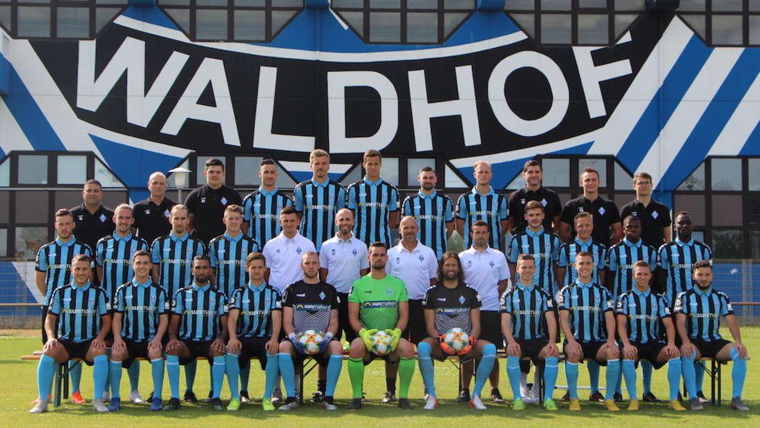 Der SV Waldhof Mannheim in der Saison 2019/20.