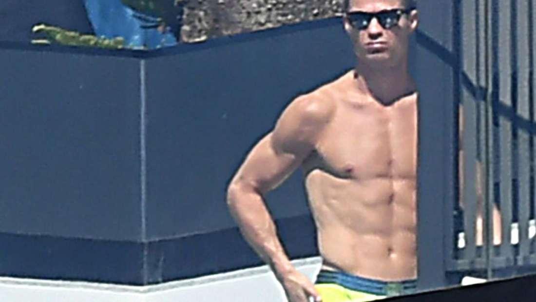 Cristiano Ronaldo lässt es sich in seiner Quarantäne gutgehen - und unterstützt Krankenhäuser