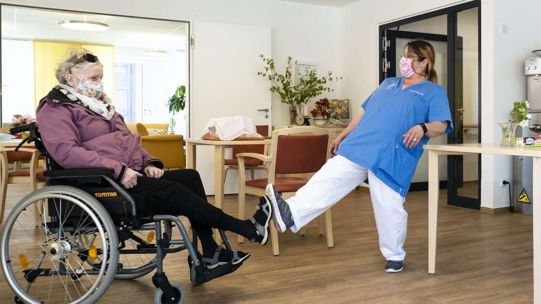 Coronavirus - Pflegeeinrichtung der Stiftung Kieler Stadtkloster