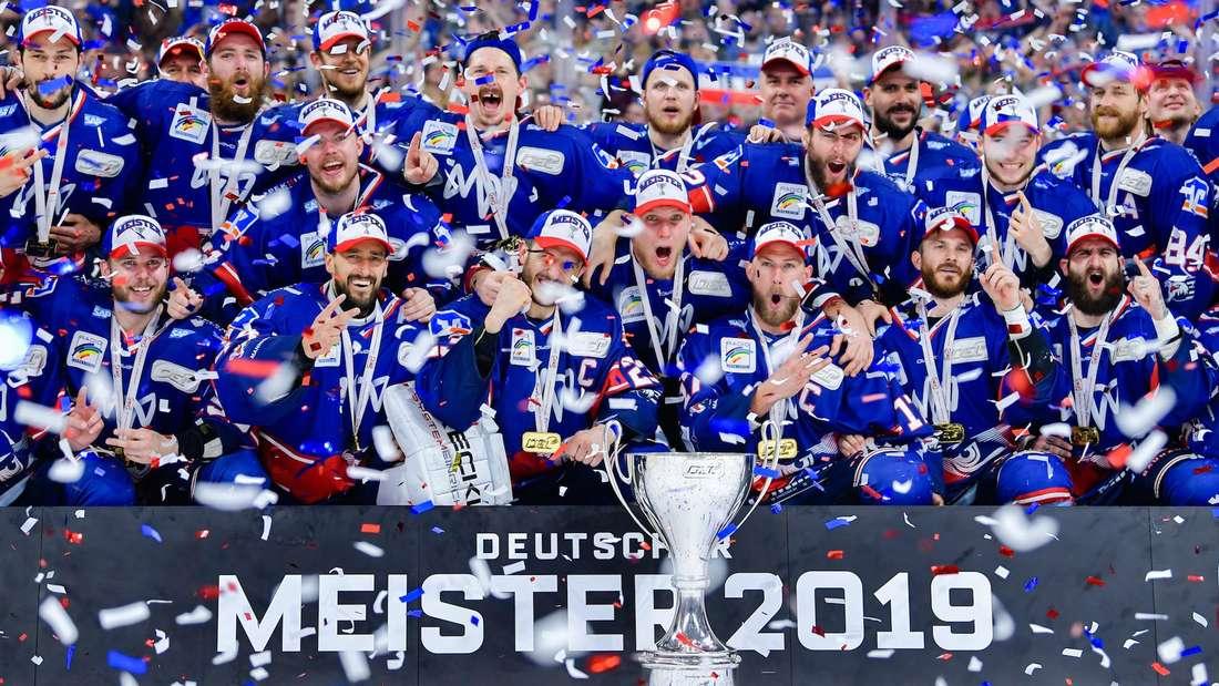 2019 holen die Adler Mannheim zum siebten Mal den DEL-Titel in die Quadratestadt.