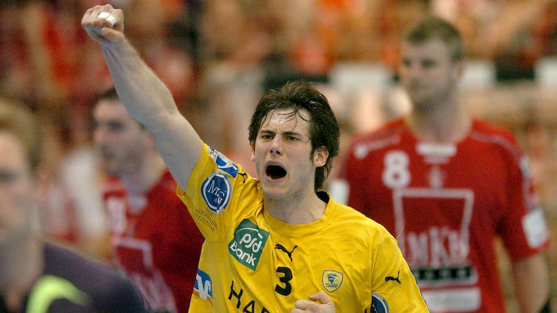 Uwe Gensheimer ist 2003 von Friedrichsfeld zu den Rhein-Neckar Löwen gewechselt.