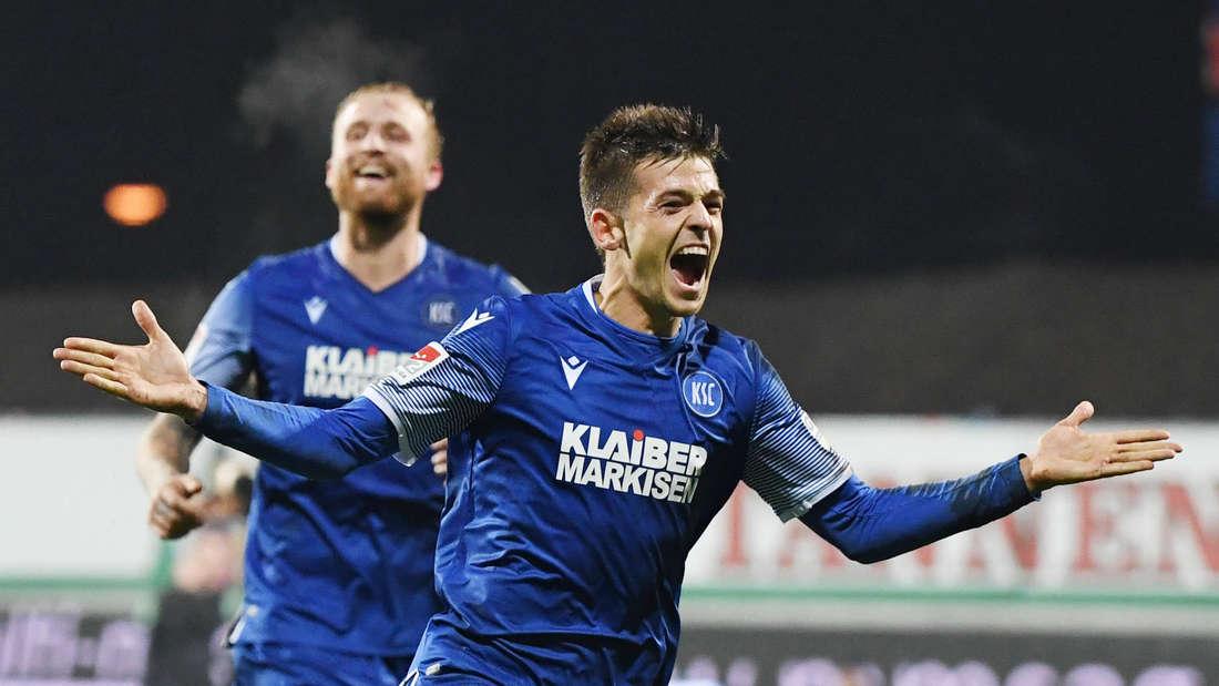 Wechselt KSC-Leistungsträger Marvin Wanitzek zu Hannover 96?