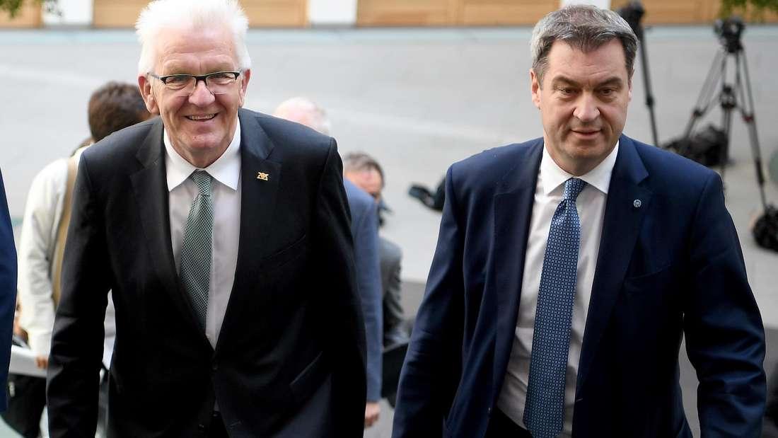 Winfried Kretschmann und Markus Söder