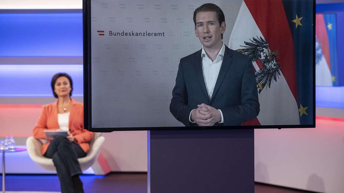 Polarisierende Aussagen bei Maischberger: Österreichs Kanzler Sebastian Kurz (ÖVP).